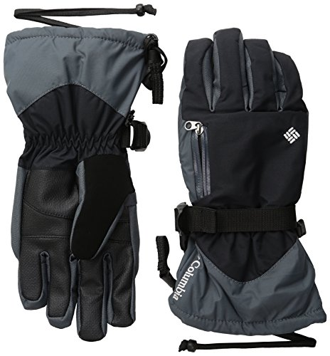 Columbia Women's Bugaboo Interchange Gloves, Black/White, Large