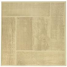 "Achim Home Furnishings FTVWD23020 Nexus Self Adhesive 20 Vinyl Floor Tiles, 12"" x 12"", Saddlewood"