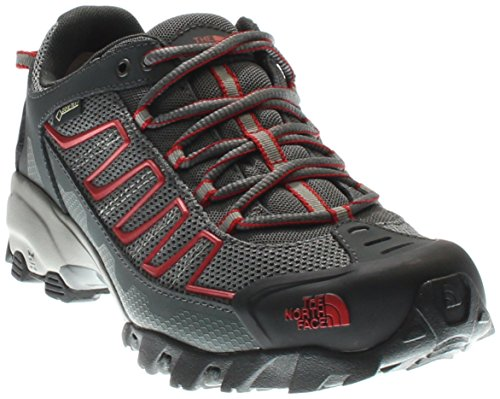 North Face Equipment (The North Face Mens Ultra 109 GTX Hiking Shoe Zinc Grey/Pompeian Red - 9.5 D(M) US)