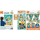 Despicable Me Party Kit - Includes 7 pc Decoration Kit, Door Poster, and Party