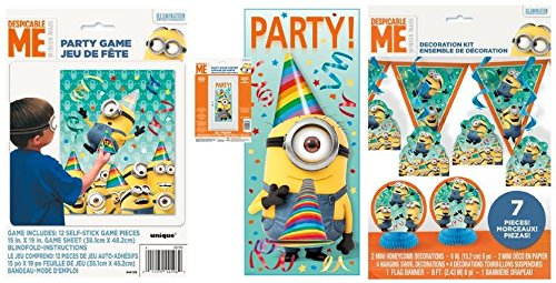 Amazon.com: Despicable Me Partido Kit – Incluye 7 PC ...