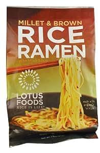 Lotus Foods Ramen Soup Mix Millet & Brown Rice -- 2.8 oz - 2 pc