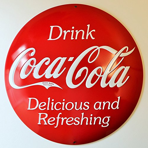 Coke Button Sign ()
