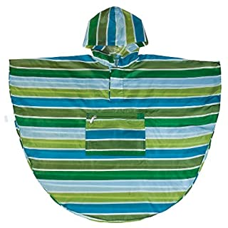 Wildkin Cool Stripes Stay Dry Poncho (4-7) (B00BN51QC2) | Amazon Products
