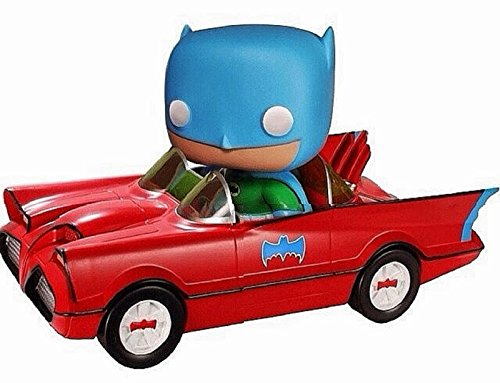 2014 Comic Con Funko Pop! Toy Tokyo Red Batman Batmobile Lim