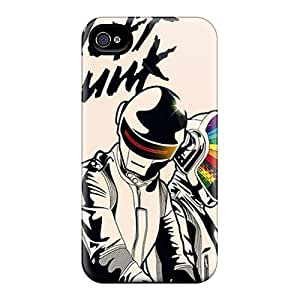 Top Quality Rugged Daft Punk Case Cover For Iphone 4/4s