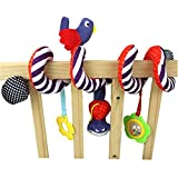 2016 NEW Infant Toys Baby Crib Revolves Around The Bed Stroller Playing Toy Crib Lathe Hanging Baby Rattles Mobiles