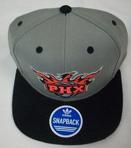 c277eda63 Amazon.com : Phoenix Suns Flat Bill Snapback Hat by Adidas NZI59 ...