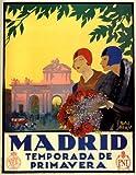 MADRID TEMPORADA DE PRIMAVERA FLOWERS SPRING TRAVEL TOURISM SPAIN 20