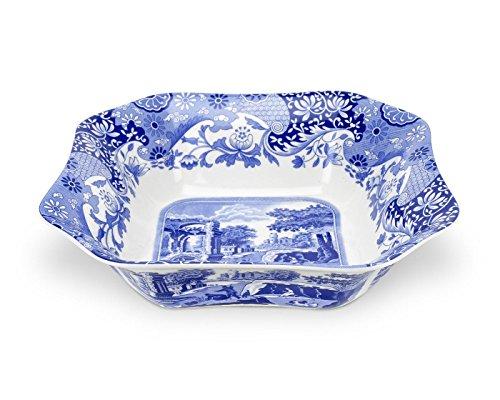 Spode Blue Italian Square Serving Bowl by Spode