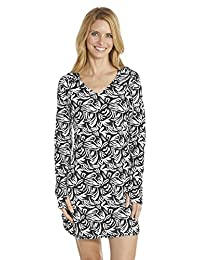 Coolibar UPF 50+ Women's Swim Cover-Up Dress - Sun Protective