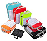 Vercord Compressible Packing Cubes Travel Carry On