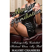 Absolute Humiliation: Making My Cuckolded Husband Clean My Bull