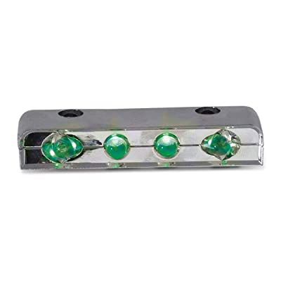 Grand General 77102 Light (Green 4-LED Auxiliary), 1 Pack: Automotive [5Bkhe0907437]