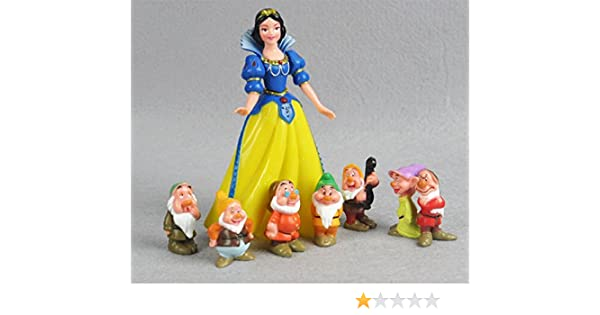 Princesas Disney - Blancanieves y los Siete Enanitos - set 8 ...