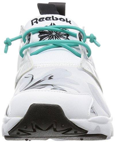 Acqua Sportive Donna Reebok Scarpe Graphic Nero Furylite Bianco Verde xa881nqStw