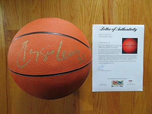 Rare Retired Number Reggie Lewis No 35 Boston Celtics Autographed Signed Memorabilia Nike Basketball PSA/DNA