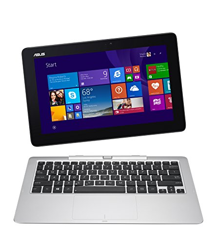 ASUS Transformer Book 12-Inch T200TA-B1-BL 2-in-1 Detachable Touchscreen Laptop, 2 GB RAM, 32 GB Storage