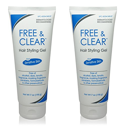 Free & Clear Hair Styling Gel 7 oz