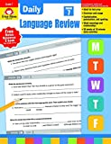 Evan-Moor Daily Language Review, Grade 7 Teacher's Edition - Supplemental Teaching Resource Workbook, 36 Weeks of Lessons