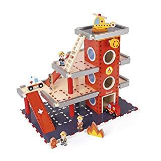 Janod Fire Station Playset