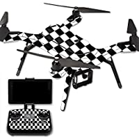MightySkins Protective Vinyl Skin Decal for 3DR Solo Drone Quadcopter wrap cover sticker skins Check