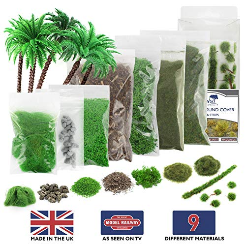 War World Gaming WWG Jungle Diorama Kit - 28mm/Heroic Scale Wargaming Terrain Scenery
