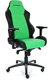 MAXNOMIC Dominator (Green) Premium Gaming Office & Esports Chair