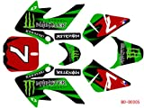 3M Graphics Decal Sticker for Honda XR50 CRF50 CRF