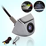Backup Parking Camera Universal Car Rear Front Side View Camera 170 Degree Wide Angle Waterproof CCD Imaging High Definition Cameras Kit Easy Installation with 2-Year Warranty