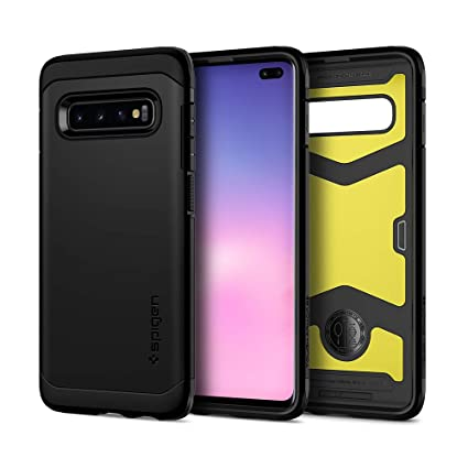 Spigen Tough Armor XP Designed for Samsung Galaxy S10 Plus Case (2019) - Black