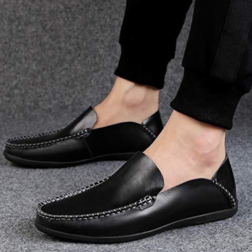 Negro Zapatos Hombre Hombre Feidaeu Zapatos Zapatos Feidaeu Hombre Feidaeu Negro Negro Feidaeu Negro Hombre Zapatos qRaztT