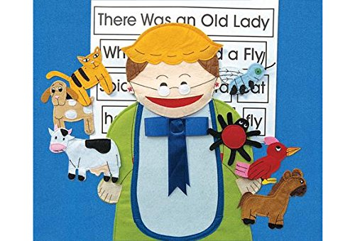 Excellerations OLDLADY There was an Old Lady Felt Story Pieces (Pack of 8)