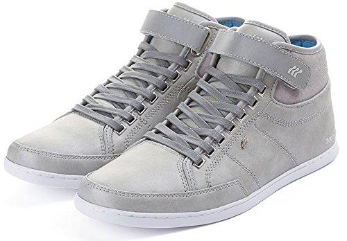 Boxfresh Swich HG Grigio Cyan Uomo Pelle Half Cab Sneaker Scarpe Stivali
