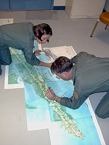 Home Comforts Laminated Poster Langley Air Force Base, VA, October 13, 1999Air Force Pilots Survey maps of Designated Mosquito Vivid Imagery Poster Print 24 x - Base Air Force Langley