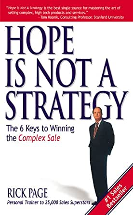 Image result for hope is not a strategy
