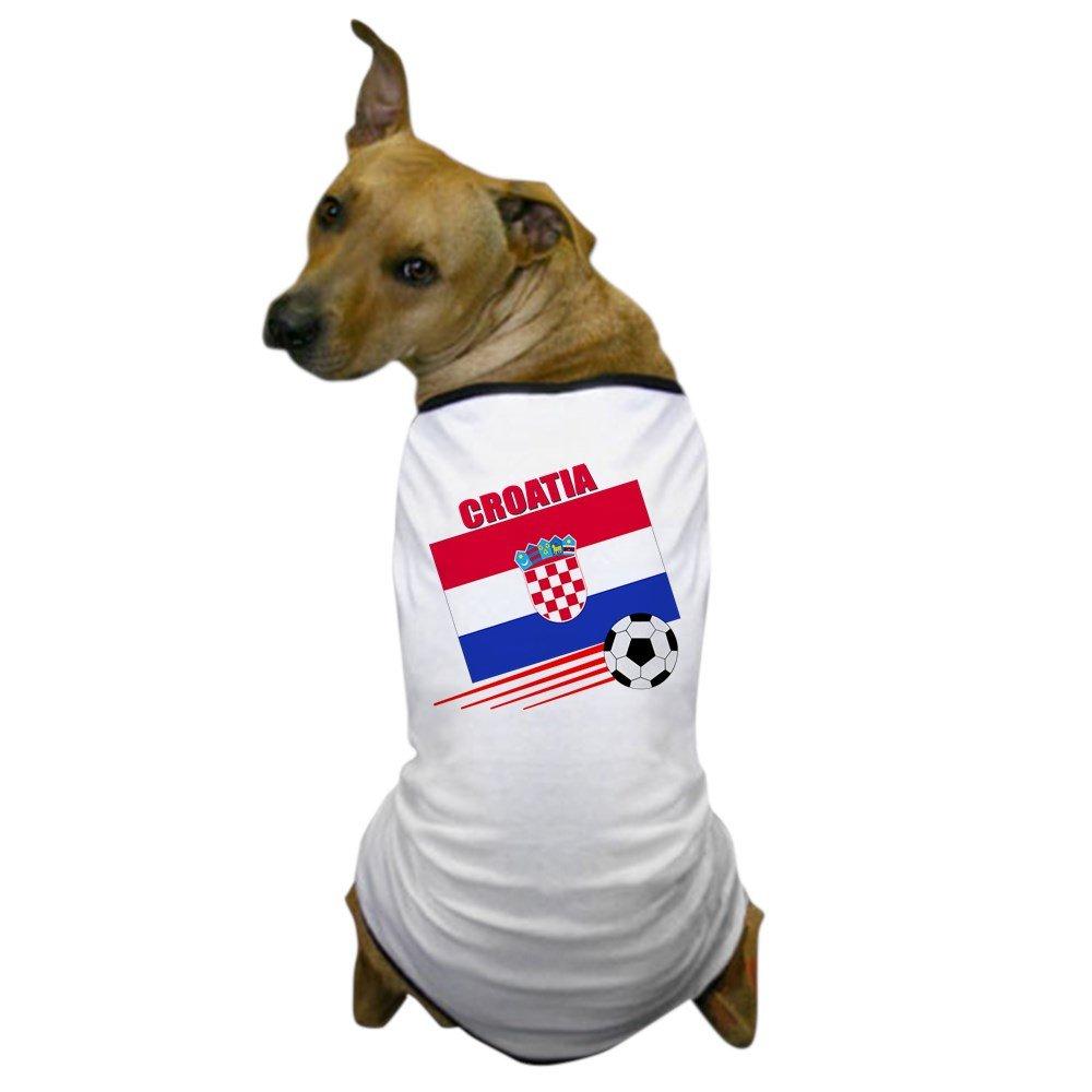 CafePress - Croatia Soccer Team Dog T-Shirt - Dog T-Shirt, Pet Clothing, Funny Dog Costume