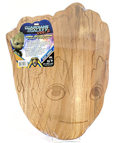Baby Groot Wooden Cutting Board - Marvel Guardians of the Galaxy 15 Inch Wood - Guardians Gifts Galaxy Of The