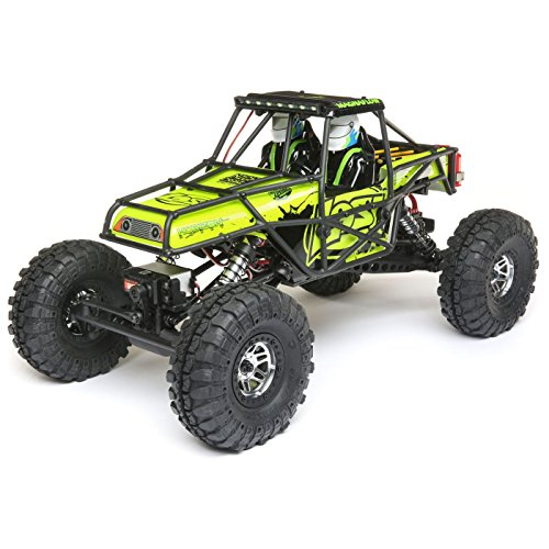 Losi Comp Crawler - Losi 1/10 Night Crawler SE 4WD RC Rock Crawler Brushed RTR with 2.4GHz FHSS Tx/Rx & LED Lights (Battery & Charger Not Included), Yellow