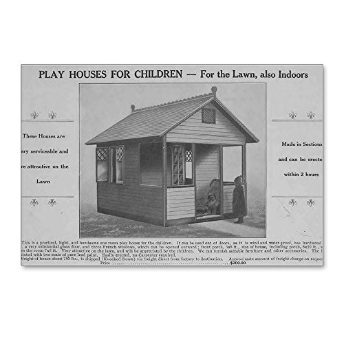 Classic Playhouse (CafePress - Play Houses For Children - Postcards (Package of 8), 6