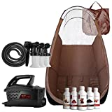 Cheap Maximist Evolution TNT Spray Tanning Complete Kit – Includes Brown Tent FREE Suntana Premium Sunless Solutions
