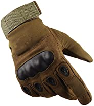 EDTara Outdoor Anti-Skid Gloves Tactical Operator Military Cycling Hiking Full Cover Finger Sport Glove