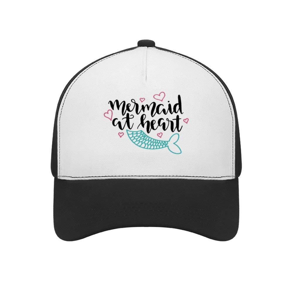 Classic Adjustable Plain Hats Dad Hats Mermaid at HeartTop Level Baseball Caps Men Women