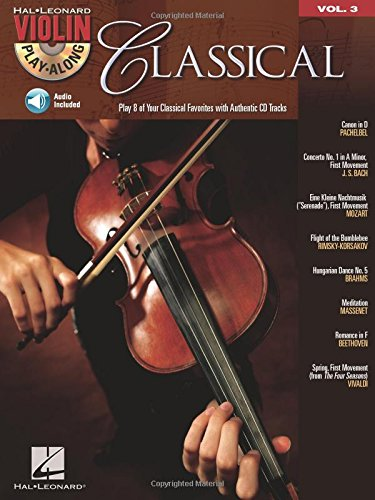 Classical: Violin Play-Along Volume 3 (Hal Leonard Violin Play -
