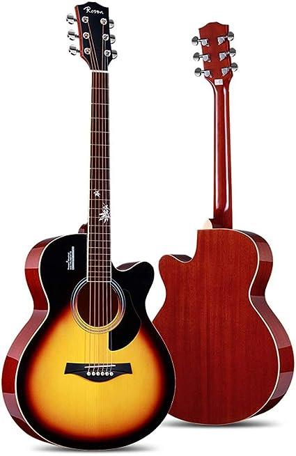 Miiliedy Minimalista Moda con incrustaciones Maple Leaf Guitarra ...