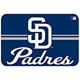 MLB San Diego Padres Mat, Small/20 x 30-Inch, White