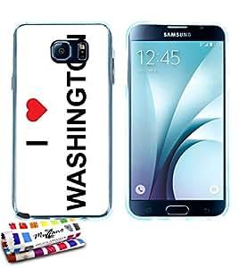 Muzzano - Carcasa ultrafina para Samsung Galaxy Note 3 protección contra los impactos, elegante, resistente, incluye 1 lápiz óptico y 1 gamuza de limpieza Muzzano, diseño de torre Eiffel