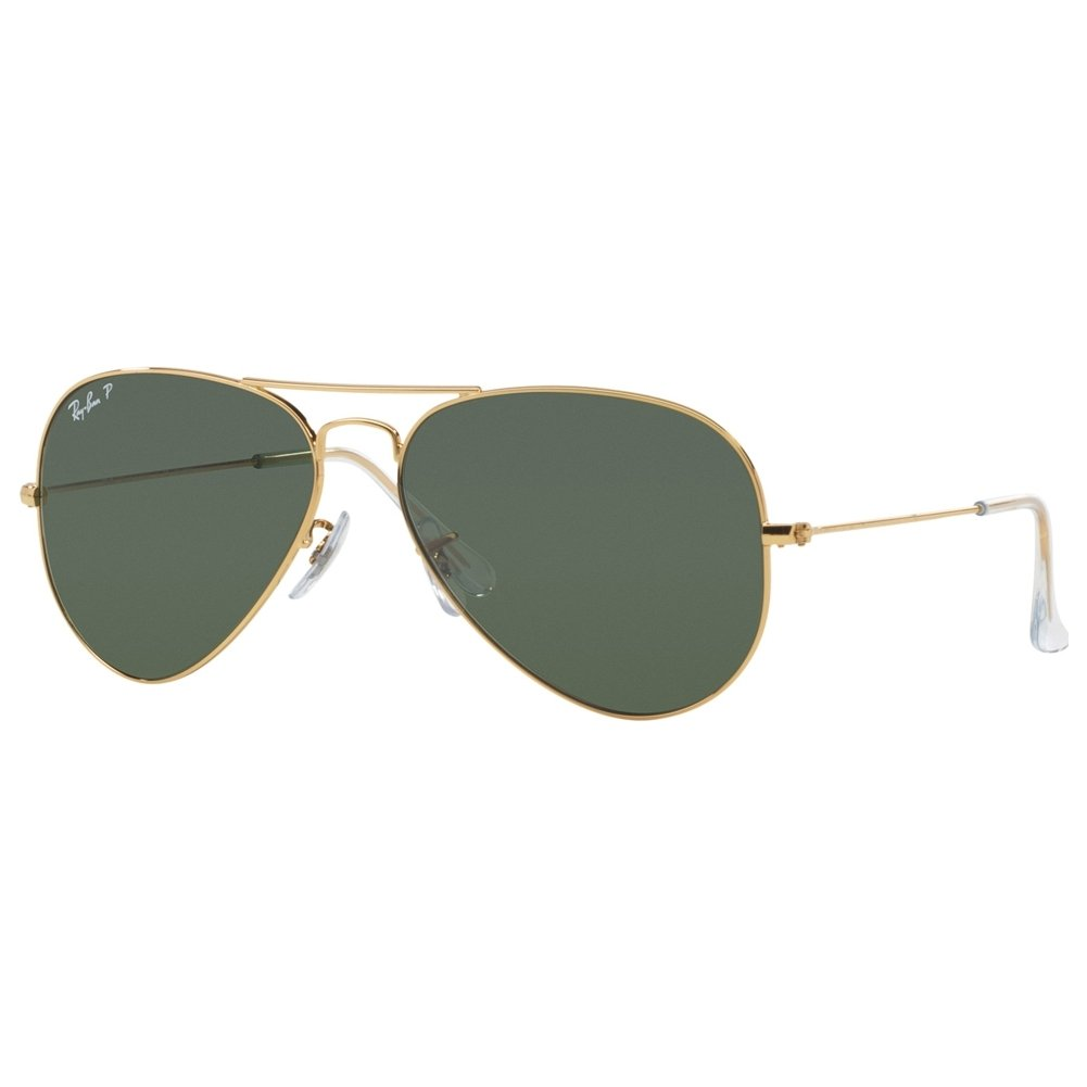 304e883b96 Amazon.com  Ray Ban RB3025 Aviator Sunglasses-001 58 Gold Gold (Green Polar  Lens)-58mm  RAY BAN  Shoes