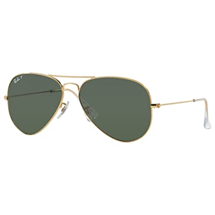 Ray Ban RB3025 Aviator Sunglasses-001 58 Gold Gold (Green Polar Lens) 19ce5750222a