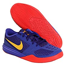 Nike Kids Kb Mentality (GS) Basketball Shoes 705387 500 Persian Violet/University Gold/Court Purple Size 6Y